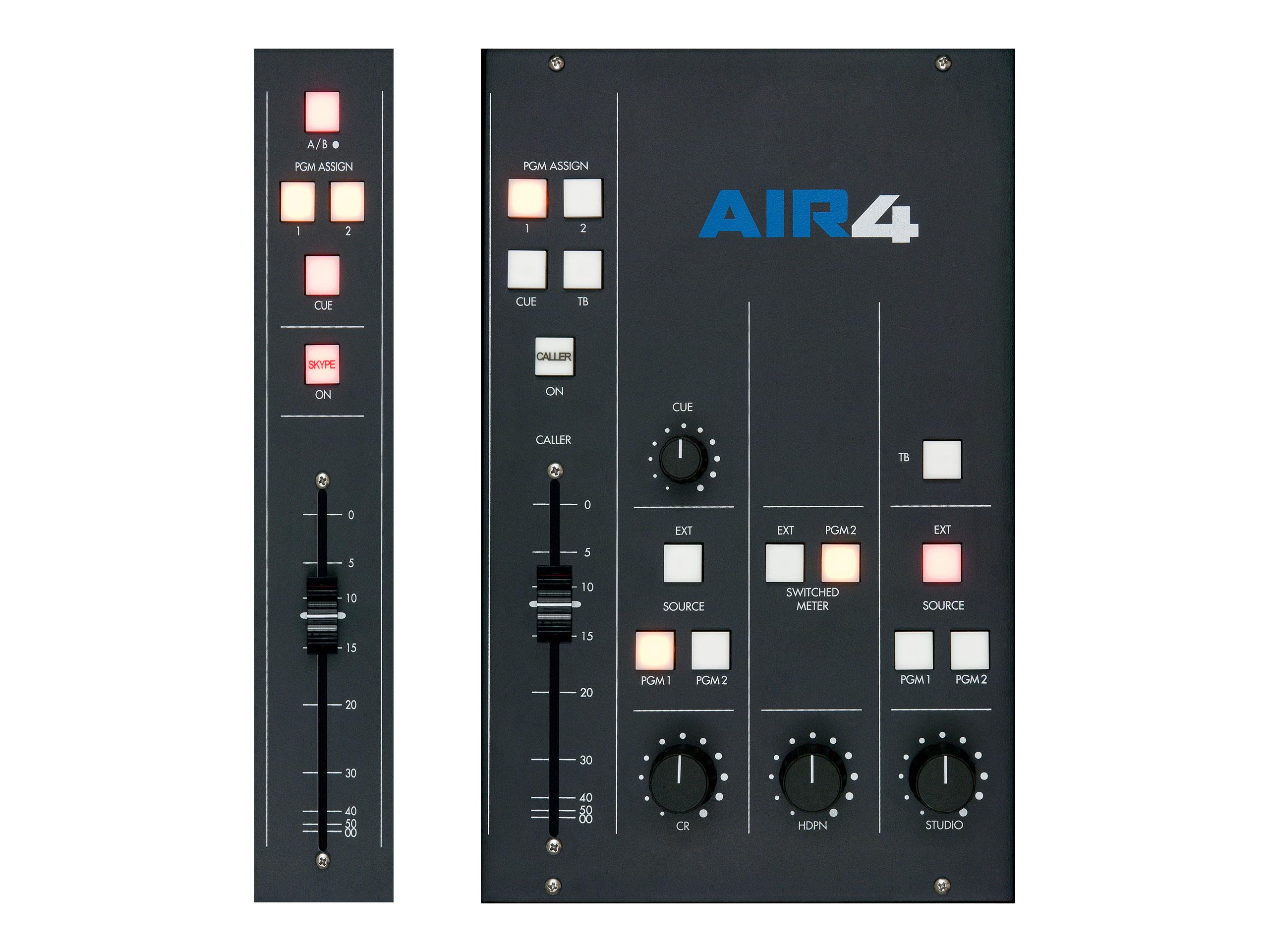 Air 4 – Pojedynczy Panel Wejściowy, Panel Hybrydy, Sekcja Master
