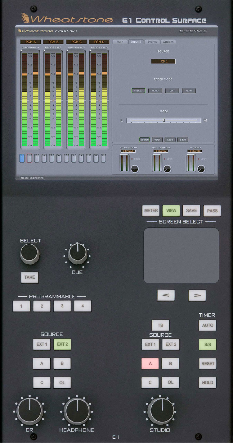 E 6: Sekcja Kontrolna Z Monitorem