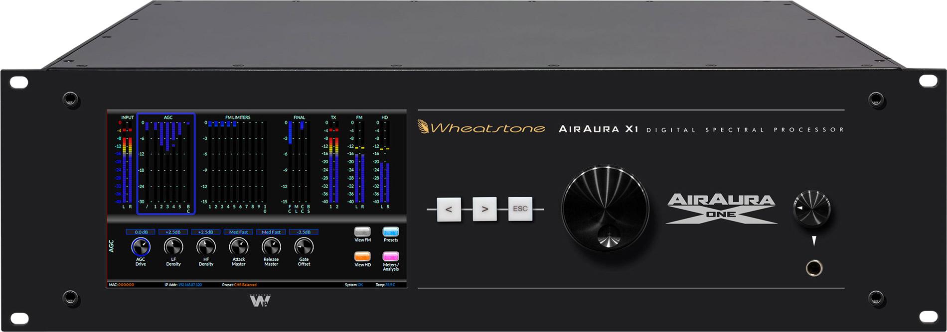 AirAura X1: front