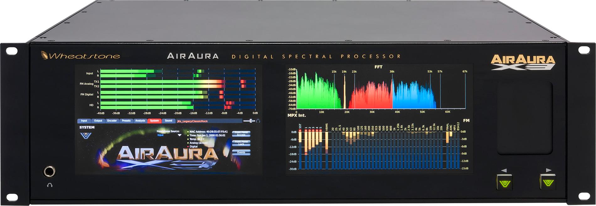 AirAura X3: front