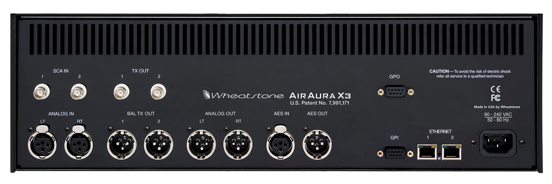 AirAura X3: Tył