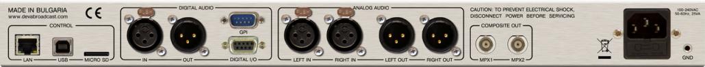 DB6000-STC: tył