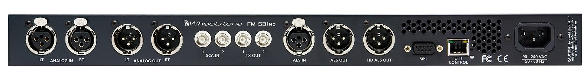 FM-531HD: tył