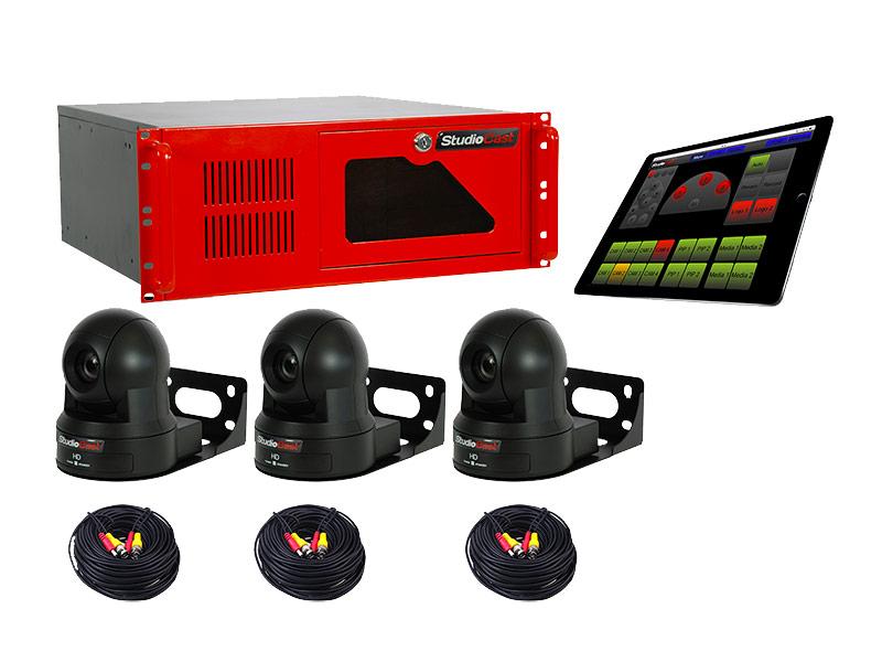 StudioCast A3IP - kompletny, gotowy dopracy system kamerowy