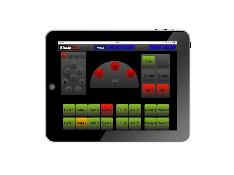 StudioCast Tablet