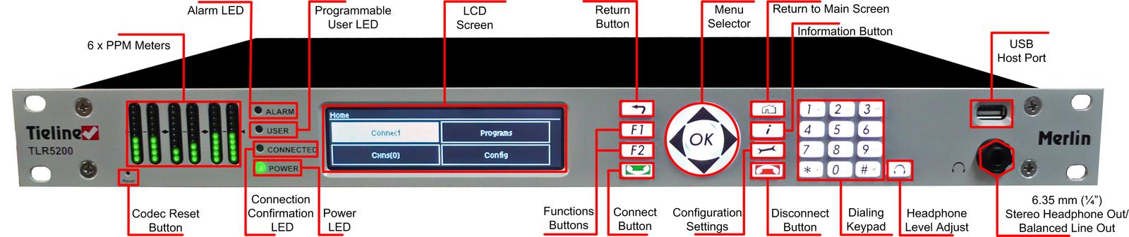 760_Merlin_rack_unit_front_panel_description_v.1.0